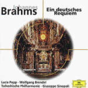 Un Requiem tedesco (Ein Deutsches Requiem) - CD Audio di Johannes Brahms,Giuseppe Sinopoli
