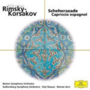 CD Sheherazade - Capriccio spagnolo di Nikolai Rimsky-Korsakov