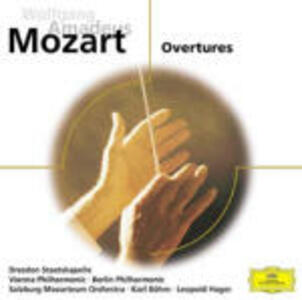 Ouvertures - CD Audio di Wolfgang Amadeus Mozart,Berliner Philharmoniker,Wiener Philharmoniker,Karl Böhm,Leopold Hager