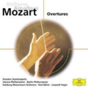 CD Ouvertures di Wolfgang Amadeus Mozart