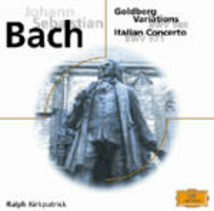 CD Variazioni Goldberg - Concerto italiano - Fantasie di Johann Sebastian Bach