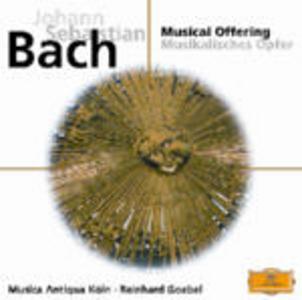 CD L'offerta musicale (Die Musikalisches Opfer) - Sonata per clavicembalo n.2 di Johann Sebastian Bach