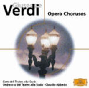 Foto Cover di Cori da opere, CD di Giuseppe Verdi, prodotto da Deutsche Grammophon