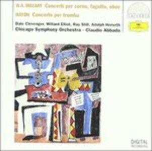 CD Concerto per corno n.3 / Concerto per tromba Franz Joseph Haydn , Wolfgang Amadeus Mozart