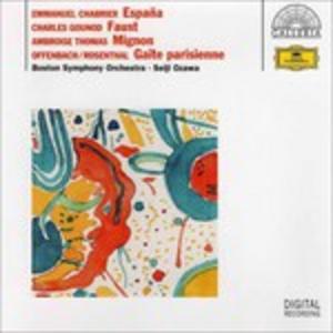 CD Chabrier-Gounod-Thomas-Rosenthal-Offenbach