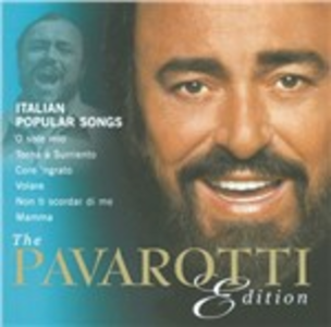 CD The Pavarotti Edition vol.10: Italian Popular Songs