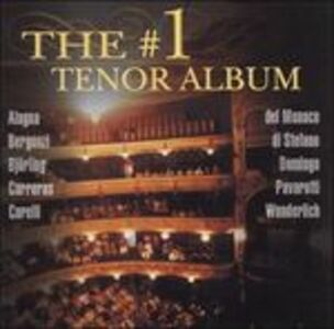 Foto Cover di Number 1 Tenor Album, CD di  prodotto da Decca