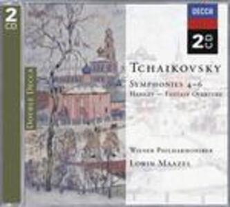 CD Sinfonie n.4, n.5, n.6 - Amleto di Pyotr Il'yich Tchaikovsky