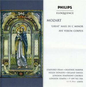CD Great Mass in C Minor di Wolfgang Amadeus Mozart