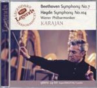 CD Sinfonia n.7 / Sinfonia n.104 Ludwig van Beethoven , Franz Joseph Haydn