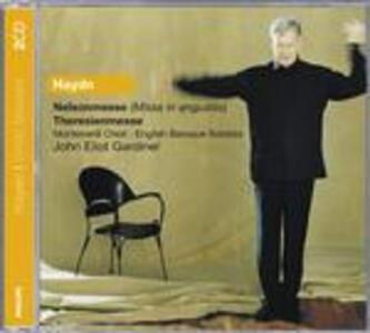Messa Nelson - Messa Theresien - CD Audio di Franz Joseph Haydn,John Eliot Gardiner,English Baroque Soloists