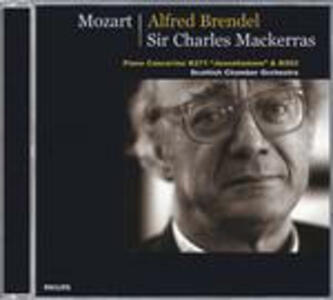 Concerti per pianoforte n.9, n.25 - CD Audio di Wolfgang Amadeus Mozart,Alfred Brendel,Sir Charles Mackerras,Scottish Chamber Orchestra