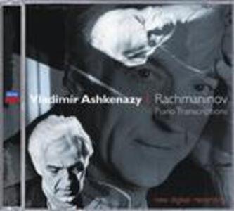 CD Trascrizioni per pianoforte di Sergei Vasilevich Rachmaninov
