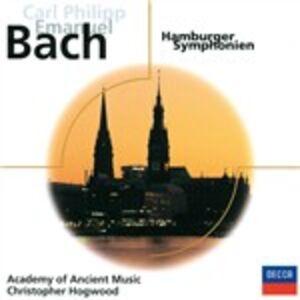 CD Sinfonie amburghesi di Carl Philipp Emanuel Bach
