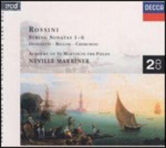 CD Sonate per archi n.1, n.2,n .3, n.4, n.5, n.6 di Gioachino Rossini