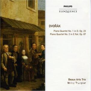 CD Quartetti con Pianoforte di Antonin Dvorak