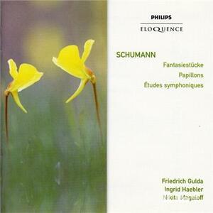 Studi Symphoniques - CD Audio di Robert Schumann
