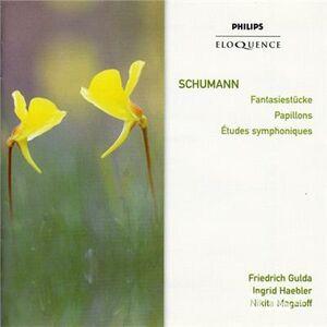 CD Studi Symphoniques di Robert Schumann