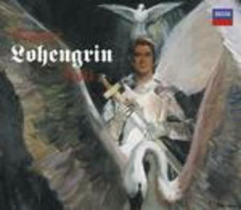 Lohengrin - CD Audio di Placido Domingo,Jessye Norman,Richard Wagner,Georg Solti,Wiener Philharmoniker