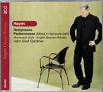 CD Messa sacra - Messa in Tempore Belli di Franz Joseph Haydn