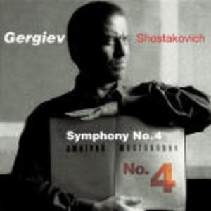 CD Sinfonia n.4 di Dmitri Shostakovich