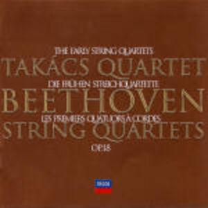 CD Quartetti op.18 di Ludwig van Beethoven
