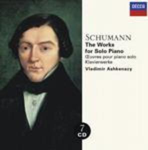 Musiche per pianoforte - CD Audio di Robert Schumann,Vladimir Ashkenazy
