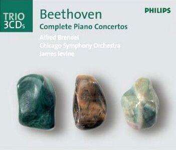 Foto Cover di Concerti per pianoforte completi, CD di AA.VV prodotto da Philips