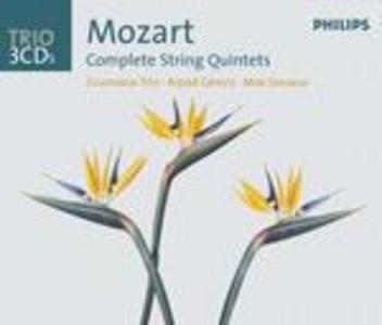 CD Quintetti per archi completi di Wolfgang Amadeus Mozart