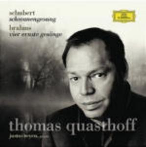 CD Schwanengesang / 4 Ernste Gesänge Johannes Brahms , Franz Schubert