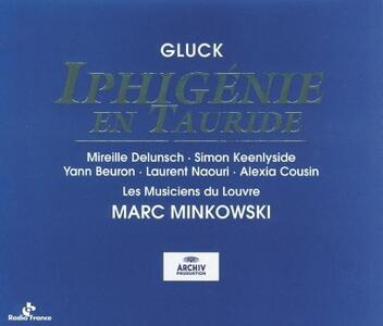 Ifigenia in Tauride - CD Audio di Christoph Willibald Gluck,Marc Minkowski,Simon Keenlyside,Mireille Delunsch,Les Musiciens du Louvre
