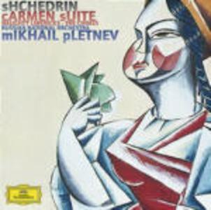 Carmen Suite - Concerti per pianoforte n.1, n.2 - CD Audio di Mikhail Pletnev,Rodion Shchedrin,Russian National Orchestra