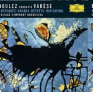 CD Ameriques - Arcana - Deserts - Ionisation di Edgar Varèse