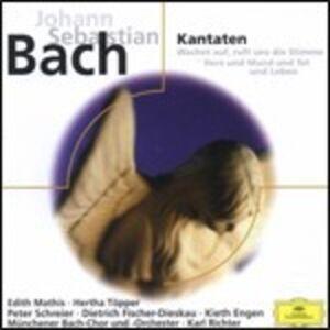 CD Cantate BWV140, BWV147 di Johann Sebastian Bach