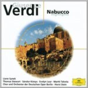 CD Nabucco di Giuseppe Verdi