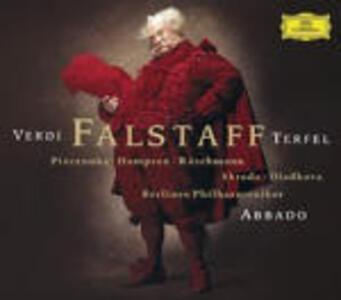 Falstaff - CD Audio di Giuseppe Verdi,Bryn Terfel,Thomas Hampson,Claudio Abbado,Berliner Philharmoniker