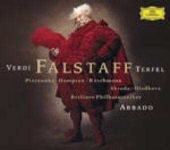 Foto Cover di Falstaff, CD di AA.VV prodotto da Deutsche Grammophon