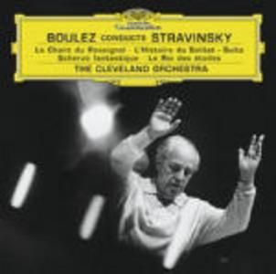 CD Le chant du rossignol - L'histoire du soldat di Igor Stravinsky