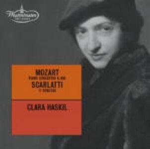 CD Concerto per pianoforte n.20 / 11 Sonate Wolfgang Amadeus Mozart , Domenico Scarlatti