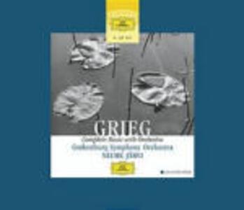 Musiche per orchestra - CD Audio di Edvard Grieg,Neeme Järvi,Göteborg Symphony Orchestra