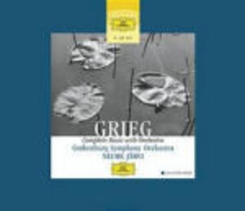 CD Musiche per orchestra di Edvard Grieg