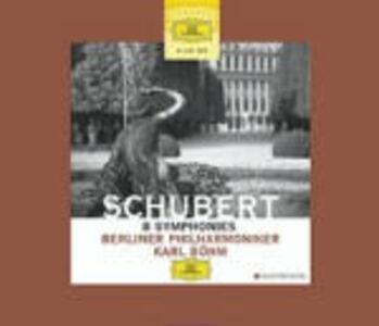 CD 8 Sinfonie di Franz Schubert
