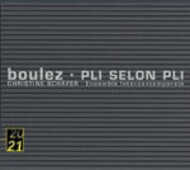 CD Pli selon Pli Pierre Boulez Christine Schäfer Ensemble Intercontemporain