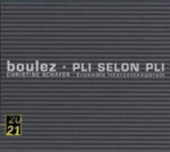 CD Pli selon Pli di Pierre Boulez