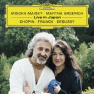 Live in Japan - CD Audio di Fryderyk Franciszek Chopin,Claude Debussy,César Franck,Martha Argerich,Mischa Maisky