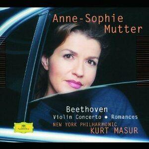 Foto Cover di Concerto per violino - Romanze per violino n.1, n.2, CD di AA.VV prodotto da Deutsche Grammophon