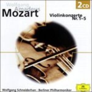 Concerti per Violino 1 - 5 - CD Audio di Wolfgang Amadeus Mozart