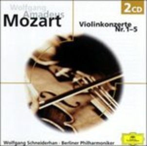 CD Concerti per Violino 1 - 5 di Wolfgang Amadeus Mozart
