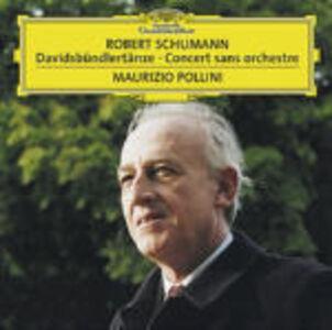CD Davidsbundlertanze op.6 - Concerto senza orchestra op.14 di Robert Schumann
