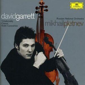 CD Concerti per violino Pyotr Il'yich Tchaikovsky , Julius Conus